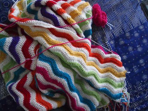 Crochet ripple along