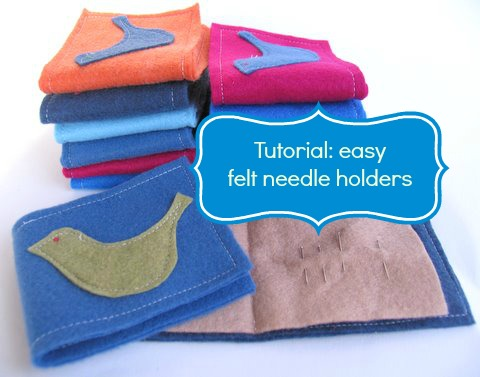 Tutorial felt needle holder