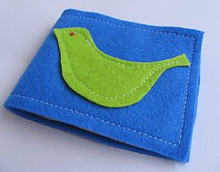 Tutorial felt holder 1