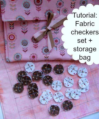Tutorial fabric checkers set