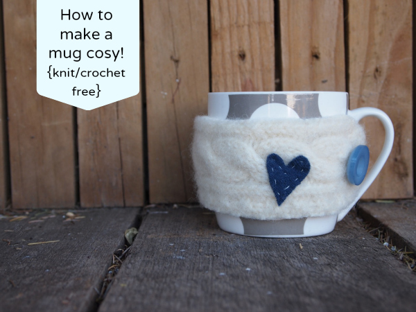 How to make a mug cosy