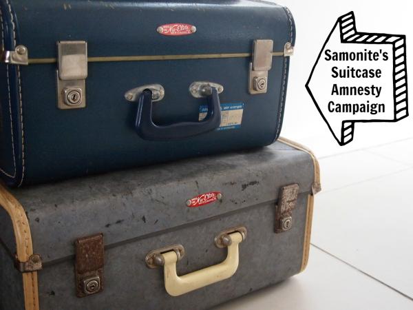 Samonite's Suitcase Amnesty campaign photo