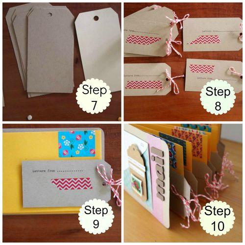 Tutorial letter storage album