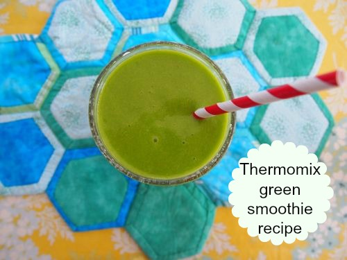 Thermomix green smoothie