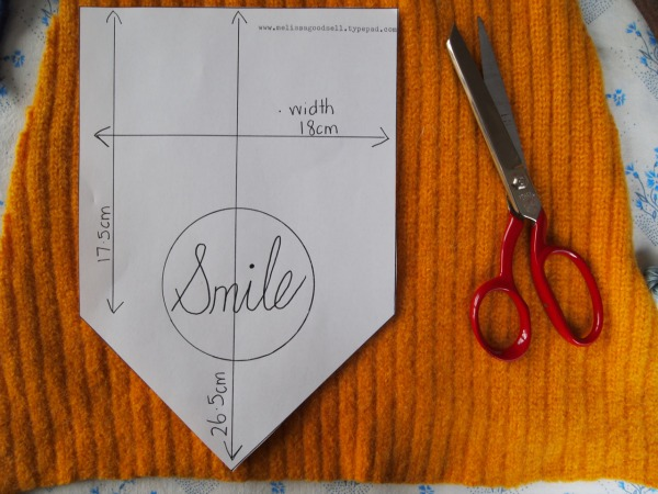 Smile banner measurements