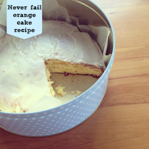 Never fail orange cake