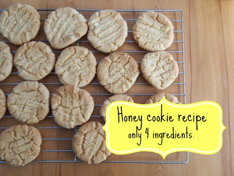 Honey cookie recipe