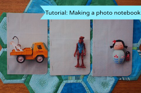 How to make a photo notebook