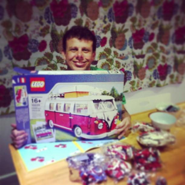 Lego combi van 16+