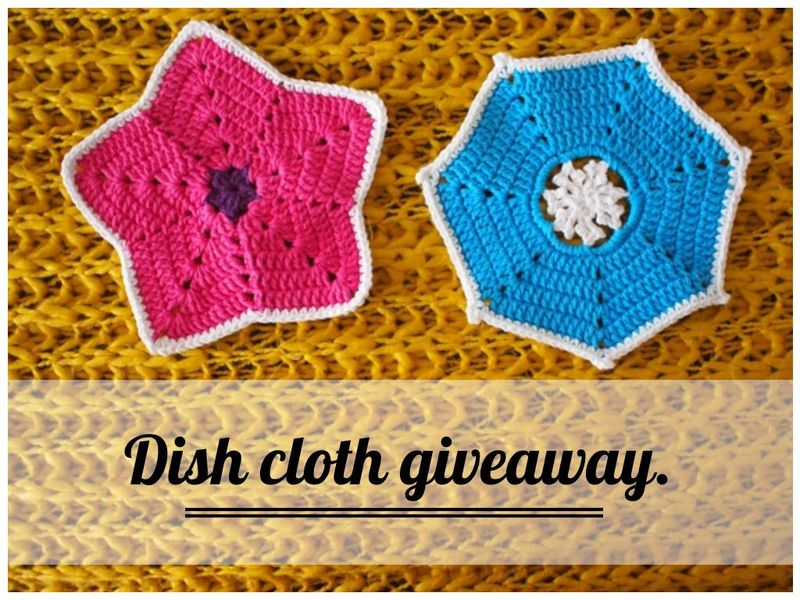 Dishcloth giveaway