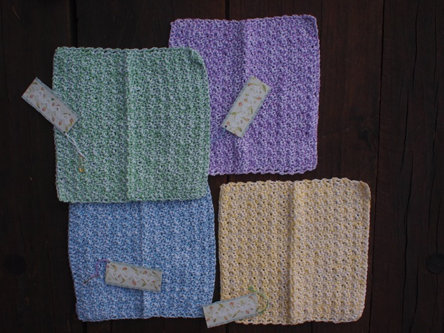 Handmade dishcloths 1