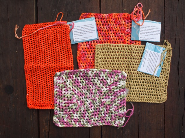 Handmade dishcloths 4