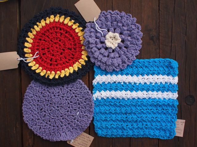 Handmade dishcloths 3