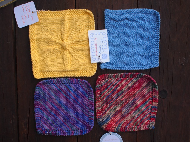 Handmade dishcloths 5