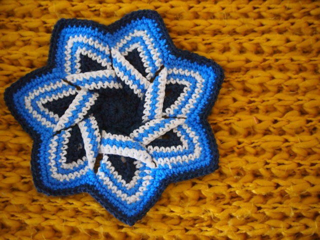Crochet hot pad