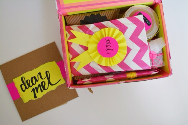 Snail mail box goodies 1