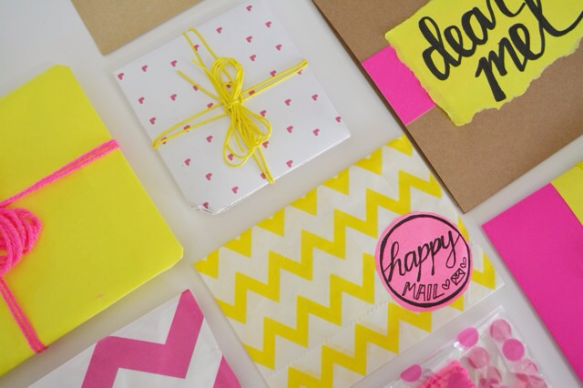 Snail mail box goodies 2