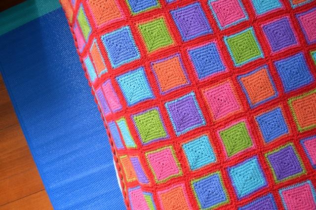 4 ply crochet blanket e