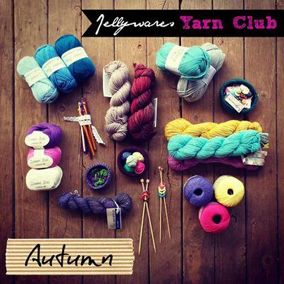 Jellywares yarn club