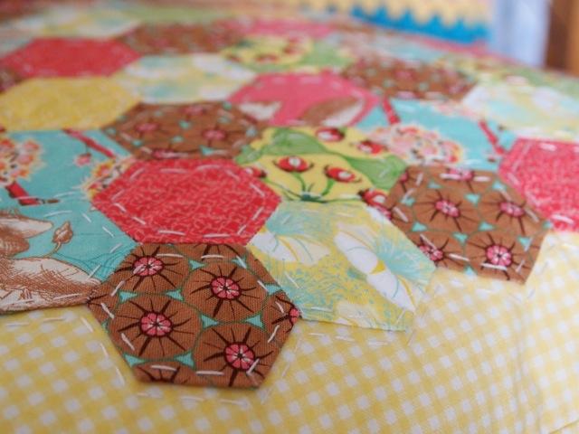 Hexagon cushion 3