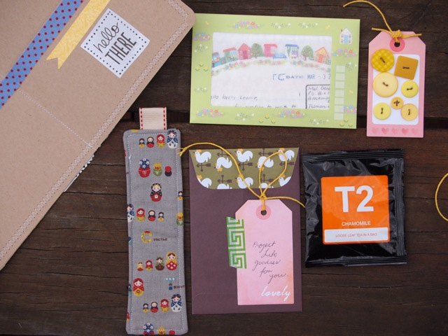 Snail mail package 1