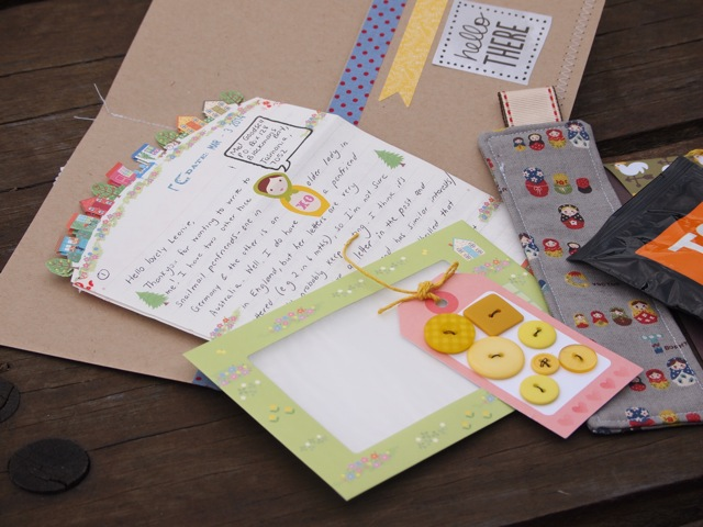 Snail mail package 3