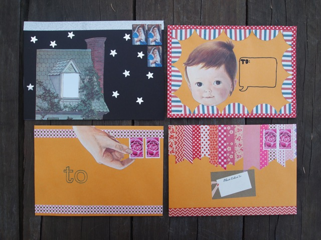 Snail mail envelope ideas