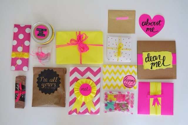 Snail mail box goodies