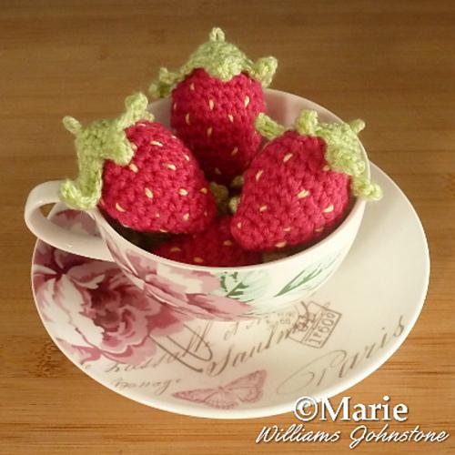 Top 10 crochet food pattern 2