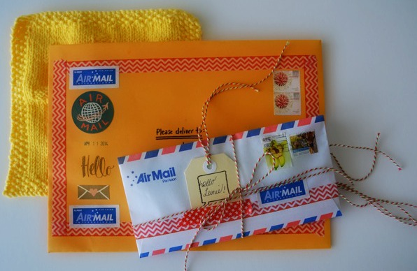 Pen pal letter ideas
