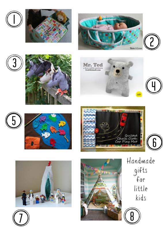 Handmade christmas gifts little kids