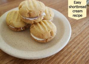 Shortbread cream recipe