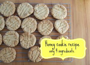 Honey cookie recipe