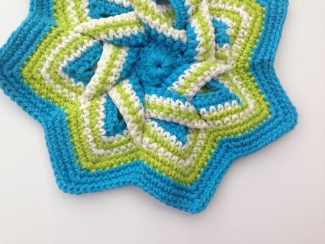 Crochet hot pad 2