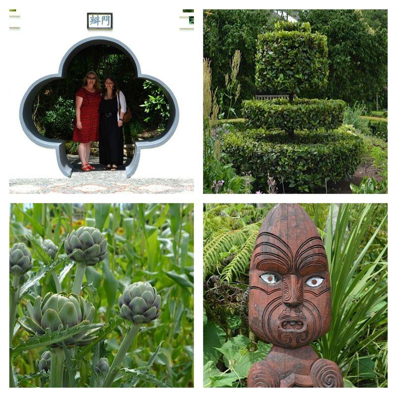 Hamilton gardens visit