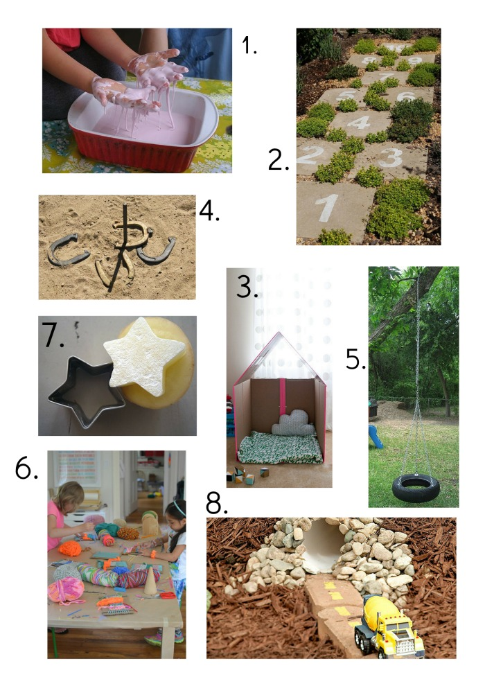 Old fashioned play ideas for kids