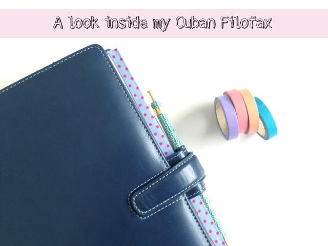 A look inside my cuban filofax