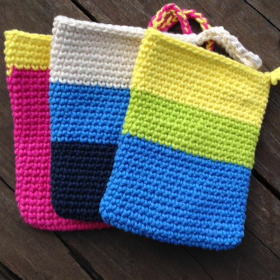 Crochet shower mit