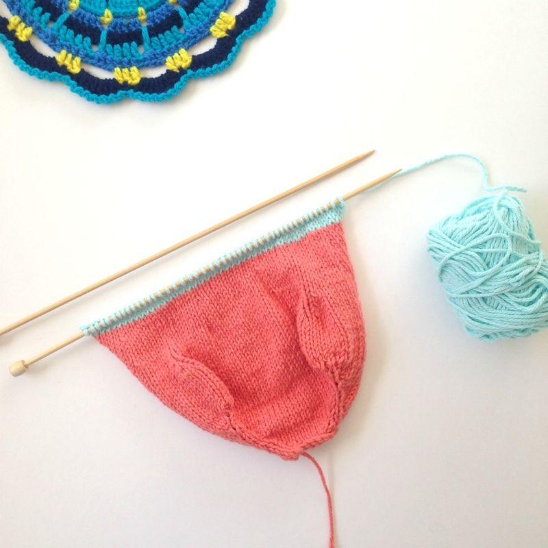 Knittd toys snake