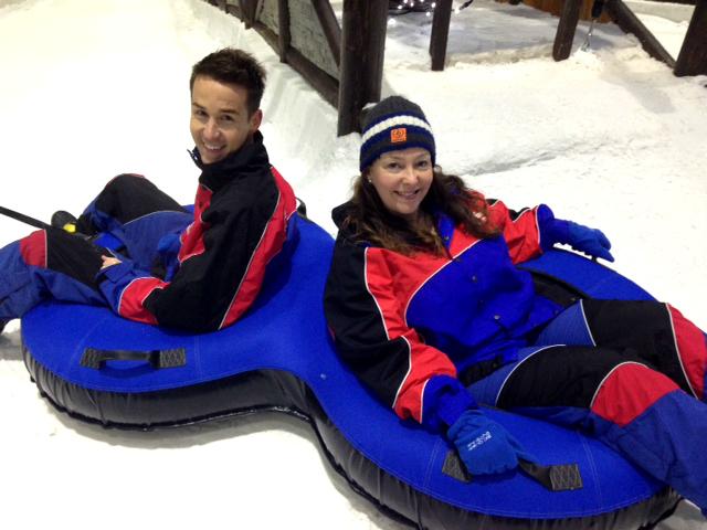 Ski dubai tube slides
