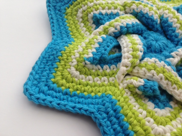 Crochet hot pad 1