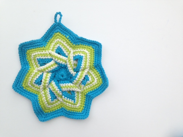 Hot pad crochet