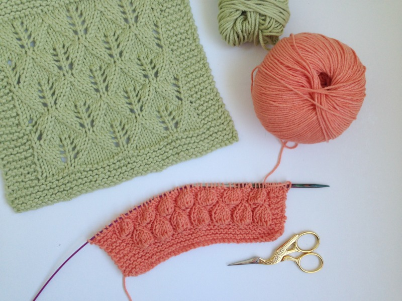 Week 1 : Leaf Lace Dishcloth + a new pattern - One Crafty Mumma
