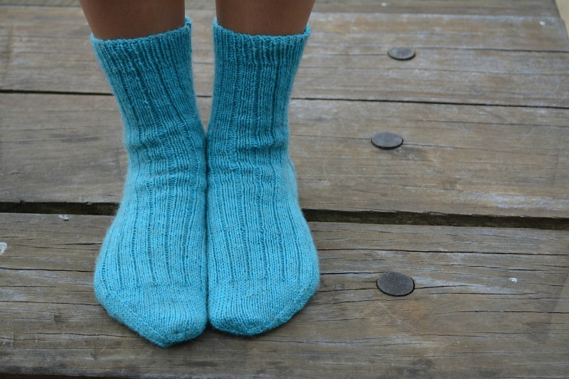 A nice ribbed sock 4