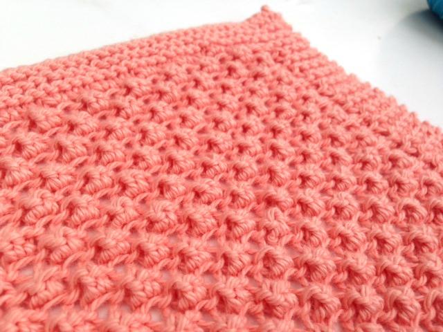 Loganberry dischloth knit