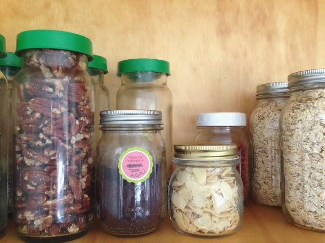 Food in jars 1