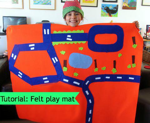 Felt play mat