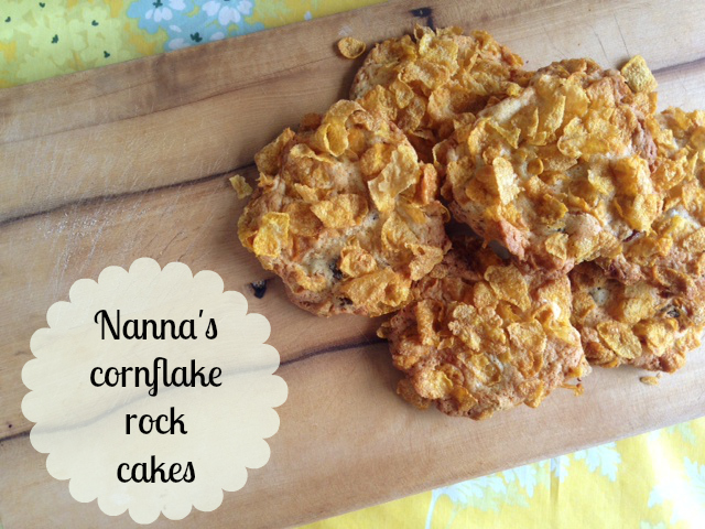 Nanna's cornflake rock cakes