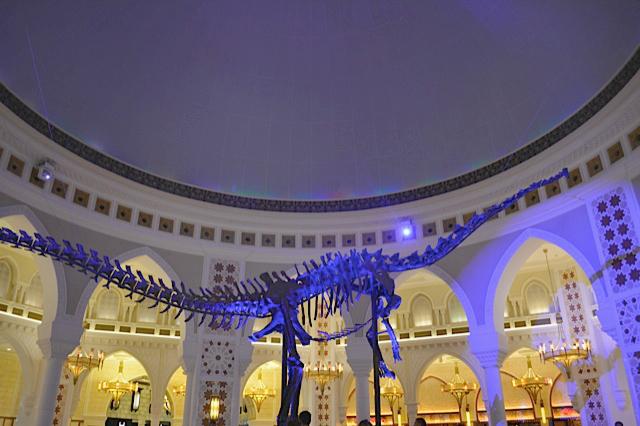 Dinosaur dubai mall