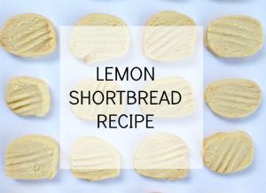 Lemon shortbread recipe 1